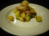 Shrimp with Lemon Beurre Blanc & Summer Vegetables