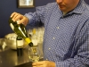 John Doyle serving an amazing Chilean Sauvignon Blanc