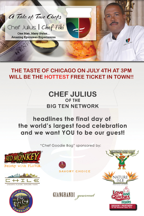Chef Julius at the Taste of Chicago