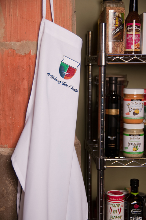 A Tale of Two Chefs Apron