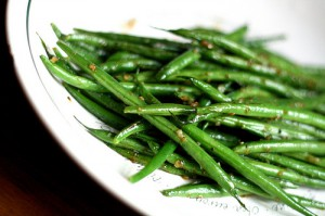French Green Beans (Haricot Vert)